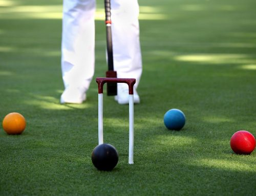 Croquet en el Club de Golf de Sotogrande
