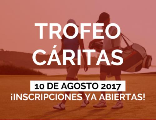 Torneo de Cáritas 2017.  DOBLE MEJOR BOLA