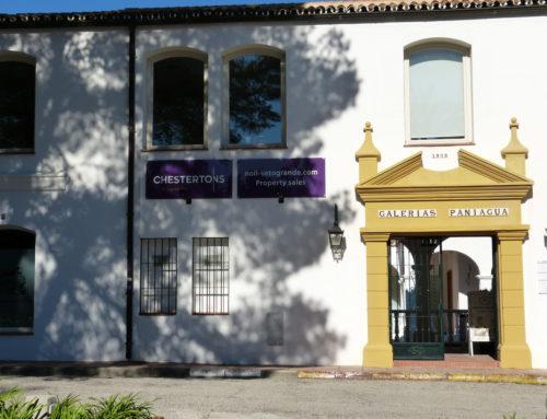 Noll Sotogrande Real Estate en Galerías Paniagua.