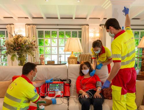 S.O.S.  Helicopteros Sanitarios a domicilio