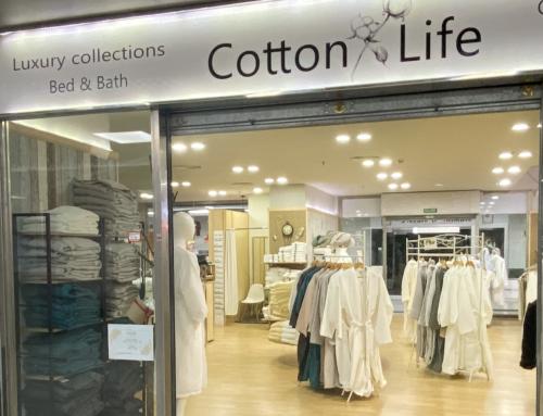 Cotton Life – Algodón egipcio en el Centro Comercial Sotomarket