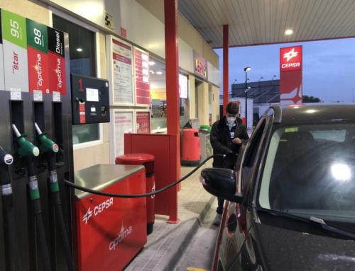Gasolinera Cepsa en San Enrique de Guadiaro