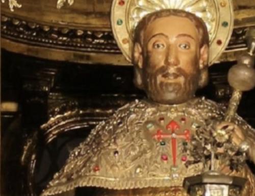Apóstol Santiago.  Patrón de España