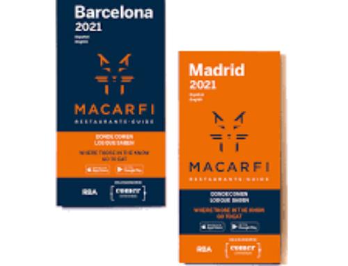 Restaurantes en Madrid (a 6 h y 13 minutos de Sotogrande) y Barcelona a 10 h 40 minutos