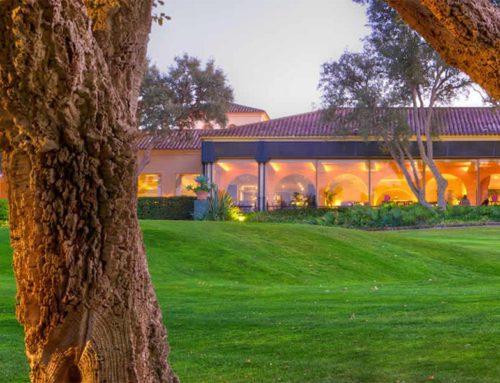 Restaurante en el Club de Golf de Valderrama